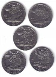 50 CENT IMPERO 1939 XVII MAGNETICA ...