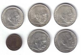 GERMANIA 2 MARK 1937 A + 1937 E + ...